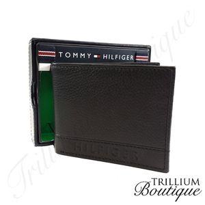 Tommy Hilfiger RFID Protect Leather Wallet & Valet